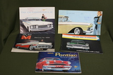 Group of 1950's Auto Brochures