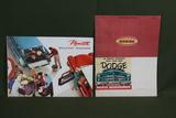 Auto Brochures - Mopar & Plymouth