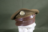WWII Army enlisted man's peaked hat