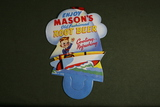 1950's Masons Rootbeer Bottle Card