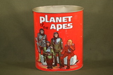 """1967 """"Planet of the Apes"""" trash can"""
