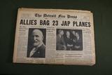 WWII Japanese Headline Newspaper Lot (4)