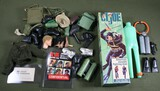 Vintage GI Joe parts and accessories lot.