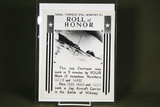 Excellent WWII Roll of Honor Press Photo