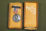 Michigan 1891 GAR Medal in Coffin Box