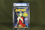 Airboy #5/1986 CGC 8.5 Stevens Cover
