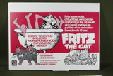 """(2) 1972 Belgian """"Fritz the Cat"""" movie posters."""