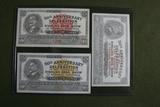 (3) 1933 Ringling Bros Circus notes