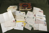 Group of 1800's Cancelled Cover Envelopes