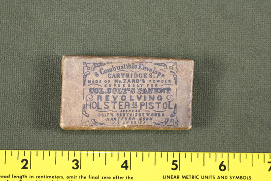 Colt's Caliber .36 Paper Cartridge Box - Full