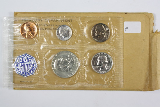 1957 Proof Coin Set