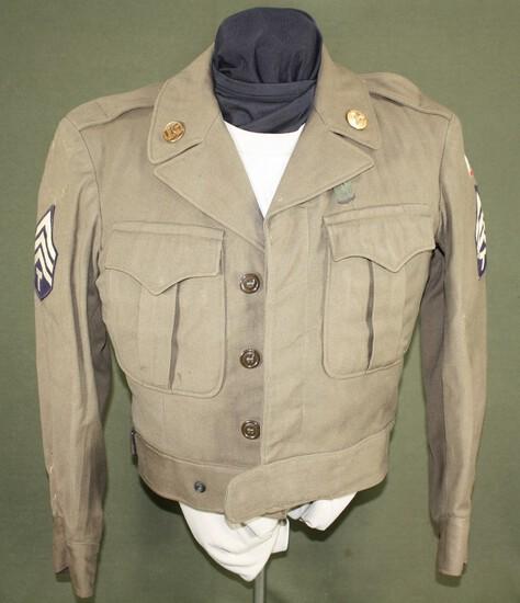 Korean War Medical Corps Tech Sgt. Ike jacket