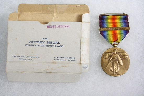 WWI Victory Medal with Meuse-Argonne bar