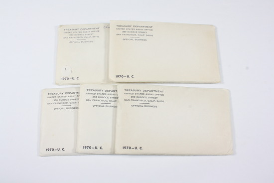 (5) US Mint UNC Sets - unopened