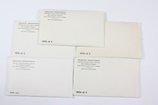 (5) US Mint UNC Sets