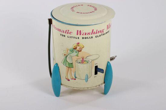 """1950's wind-up """"Automatic Washing Machine"""""""