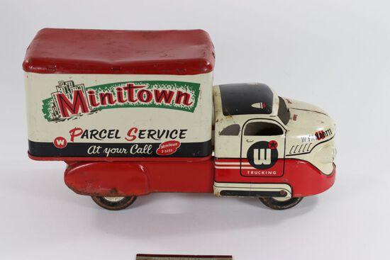 1950's Wyandotte Minitown Parcel Service truck.