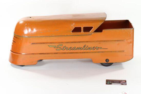 "1930's Marx Ride-On ""Streamliner"""