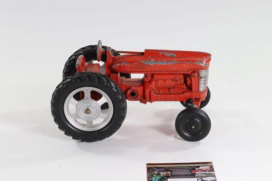 1950's Hubley IH toy metal tractor