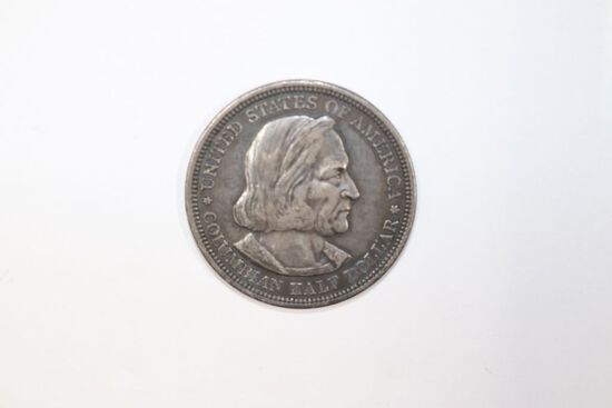1892 Columbian silver commemorative half dollar