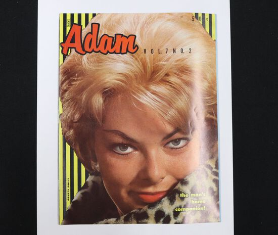 Adam V7 #2/1962 Mens Magazine