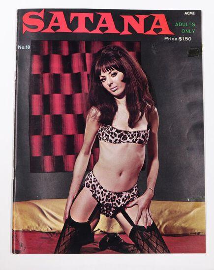 Satanna #10/1966 Mens Magazine