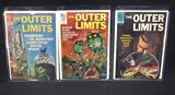 "(3) Silver Age Dell ""The Outer Limits"" comic books"