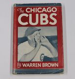 "1946 ""Chicago Cubs"" by Warren Brown hardcover book"