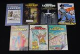 "(7) 1970's issues of ""National Lampoon"" magazines"