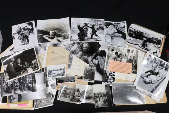Vietnam War photo/doc collection on civilian casualties