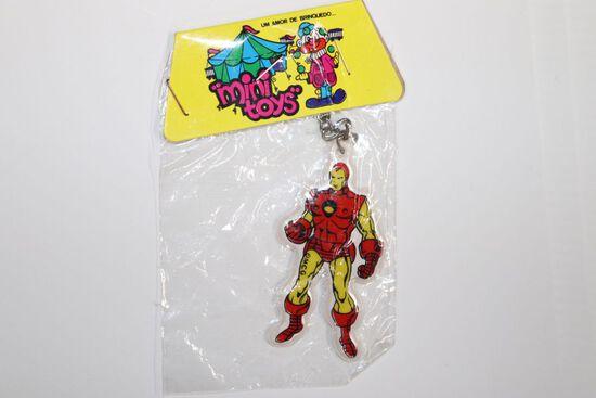 Iron Man Rare Vintage Puffy Sticker