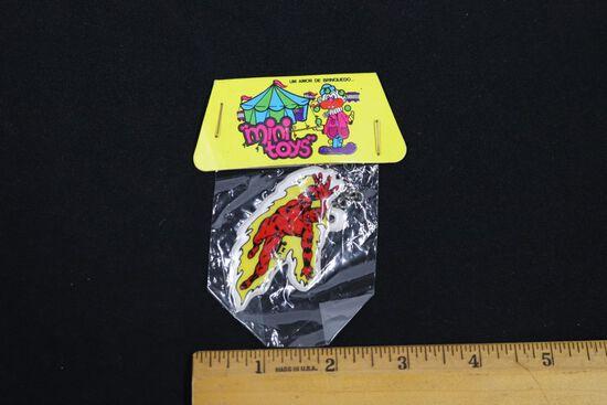 Human Torch Rare Vintage Puffy Sticker