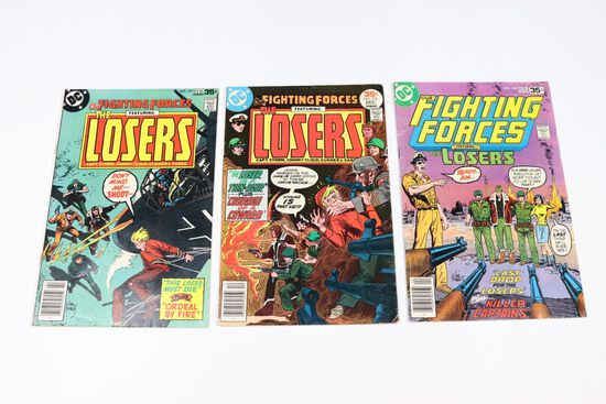 Our Fighting Forces Lot of (3) Later Issues