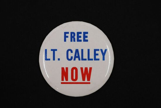 Free LT. Calley Pin-Back