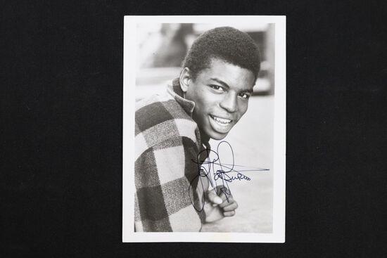 Lavar Burton Signed B/W Photograph