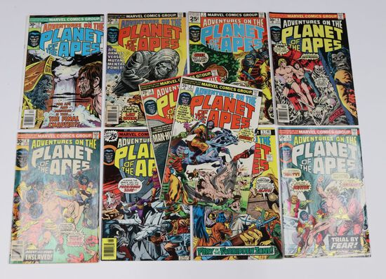 Planet of the Apes Marvel Bronze Lot of (10)