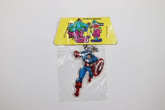 Captain America Rare Vintage Puffy Sticker