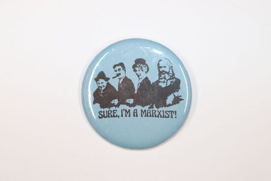 Obscure 1970's Pro-Marxist Pin-Back