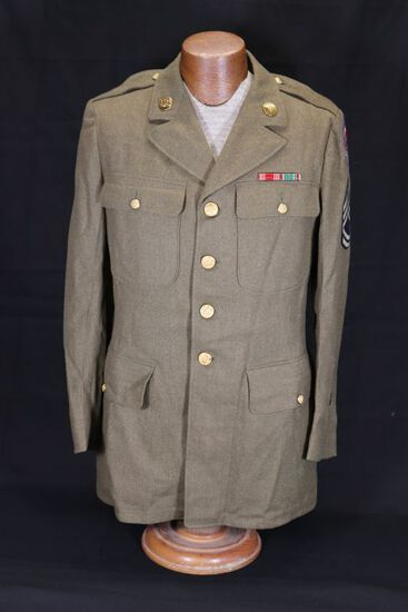 WWII US Army Tech Sgt/Medical Corp Tunic