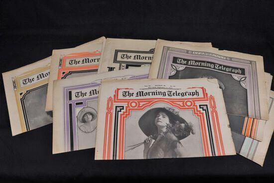 c.1911 Morning Telegraph Lot/Fancy Ladies