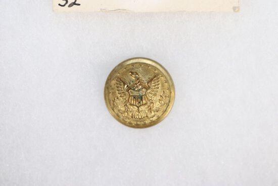 Civil War Staff Officers Uniform Button
