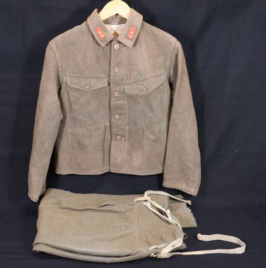 WWII Japanese 1st Class Pvt. Uniform w/Pants