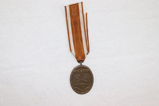 Nazi WWII Westwall Medal