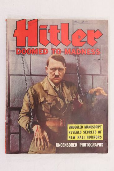 Hitler Doomed to Madness (1940) Magazine