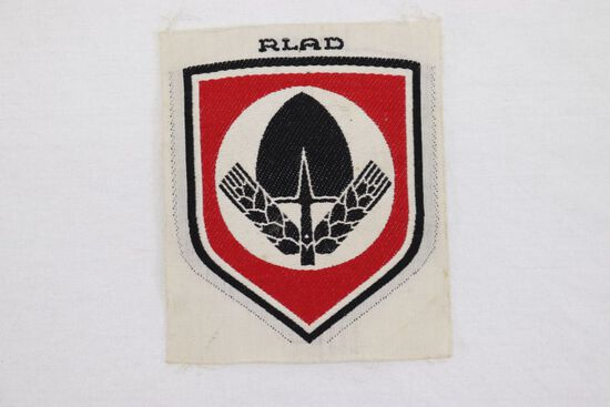 Nazi RAD Bevo Sports Shirt Patch