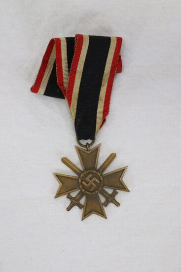 WWII Nazi War Merit Cross w/Swords
