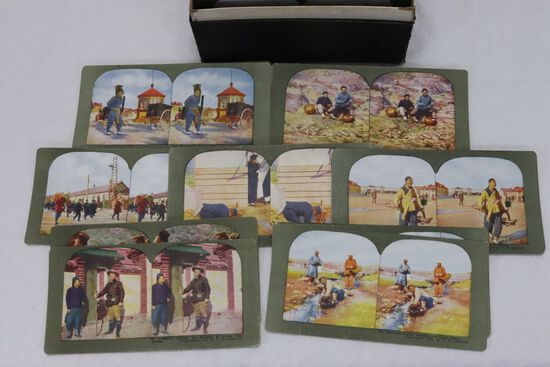 Siege of Port Arthur Sterioview Card Set