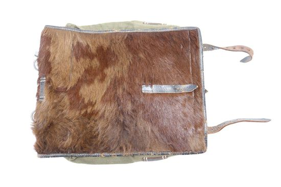 WWII Nazi Soldier's Pony Fur Pack
