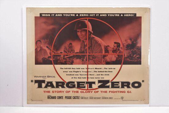 1956 War Movie 1/2 Sheet Movie Poster