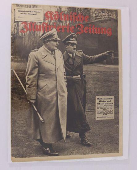 Nazi March 1942 Magazine H. Goring Cover